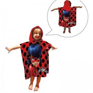 Poncho LadyBug prodigiosa toalla poncho playa o piscina de Lady Bug Nuevo