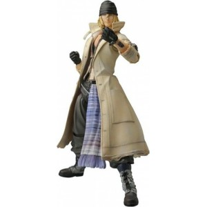 Figura Snow Villiers Final Fantasy XIII Play Arts en caja 23 cm