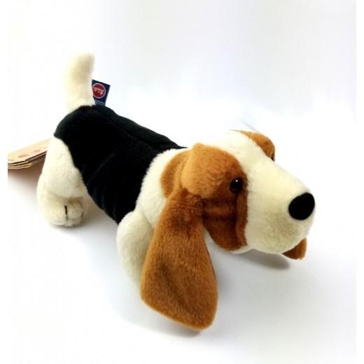 Peluche de basset hound rastreator muy suave de calidad perro pequeño 19 cm