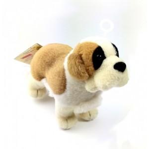 Peluche de San Bernardo muy suave de calidad perro pequeño 19 cm
