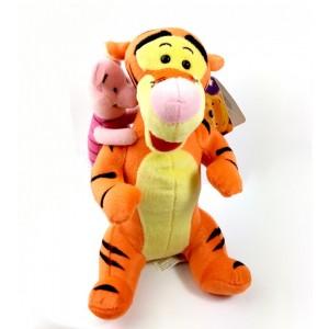 Peluche de Tiger con Piglet cerdito grande 26 cm Winnie the Pooh
