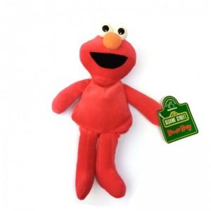 Peluche de Elmo de Barrio Sesamo Rojo tipo bolsa con peso Bean bag 20cm