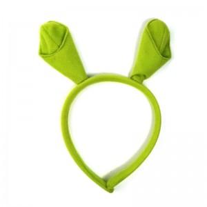diadema con orejas de Shreck orejas de Ogro Verde para disfraz infantil Shrek
