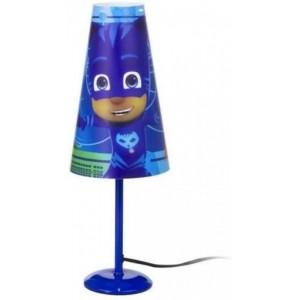 Lampara de mesa PjMasks Azul 38cm para mesita Pj Masks