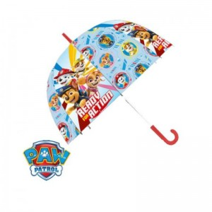 Paraguas de Patrulla canina infantil transparente campana 46cm dibujos