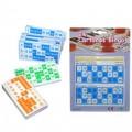 Cartones para Bingo 24 cartones distintos en 3 colores tarjetas juego de bingo