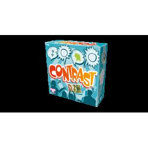 Juego de cartas Contrast juego de mesa divertido relaciona las cartas e imágenes