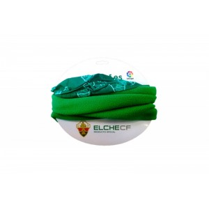 Braga de cuello del Elche club de fútbol calentita polar Verde talla única