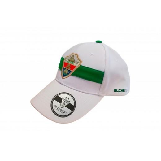 Gorra del Elche club de futbol con escudo Bordado club ADULTO Verde y blanca