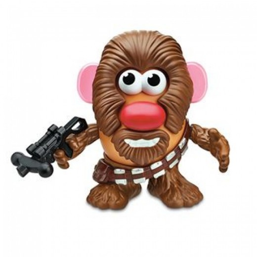 Figura muñeco mr. Potato Star wars Chewbacca 12 piezas