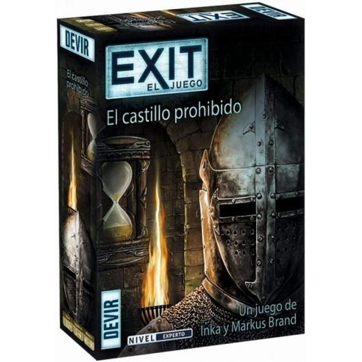 Juego de Mesa Exit El juego Scape El castillo prohibido sala de escape
