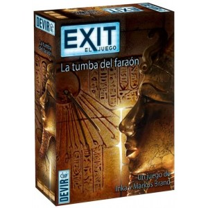 Juego de Mesa Exit El juego Scape la tumba del faraón sala de escape