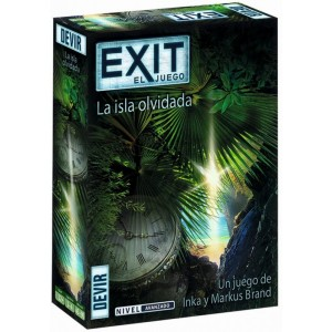 Juego de Mesa Exit El juego Scape room La isla olvidada sala de escape