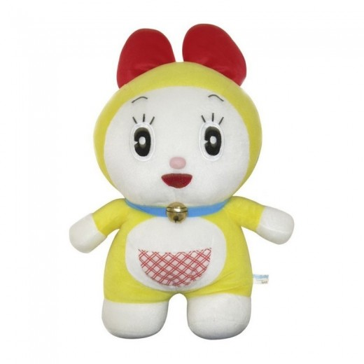 Peluche de Doraemon 33 cm Dorami con novia Doraemon amarilla gato suave