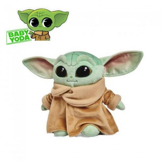 Peluche de Star Wars baby Yoda original 25 cm Mandalorian muñeco Starwars