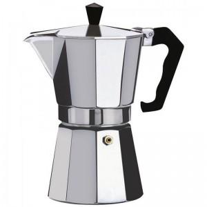 Cafetera expreso clasica de aluminio para café individual 1 taza Nueva España