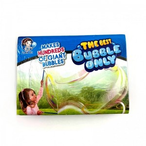 Juego de pompas de jabón gigante caja kit para hacer burbujas grandes Megapompas
