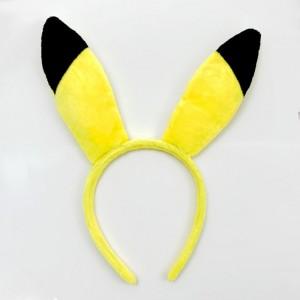 Diadema con orejas de pikachu pokemon para disfraz orejitas picachu cosplay