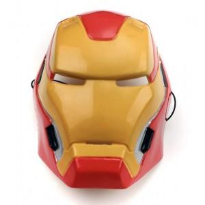 Mascara iron man para niño careta vengadores Iron-MAN super héroe Disfraz