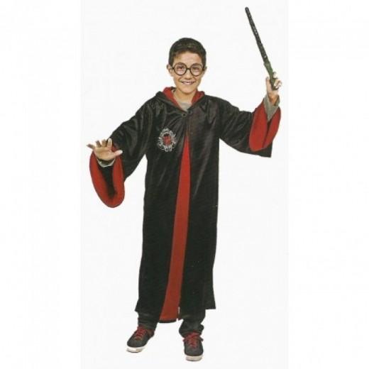 Disfraz de mago estudiante tipo Harry Potter tunica de mago disfraz carnaval