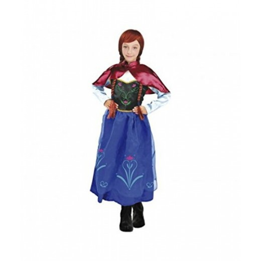 Disfraz de Pricesa de hielo de Ana Hermana de Elsa Frozen princesa Anna nieve