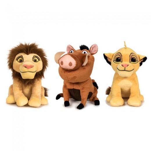 Peluche El Rey Leon Disney suave 30 cm varios Simba Simba adulto y Pumba