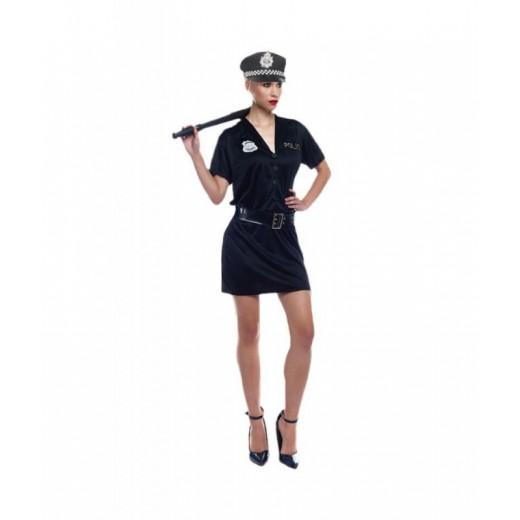 Disfraz de Policía traje de mujer despedida de soltera y carnaval