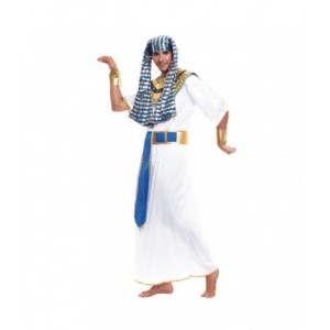 Disfraz de Faraon tipo Egipcio para fiesta Egipcia traje carnaval adulto