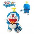 Peluche Doraemon con gorrocoptero de dibujos animados Doraemon 23 cms Original