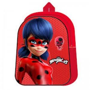 Mochila de Ladybug Grande 40 cms Mochila Prodigiosa Roja para colegio Nueva