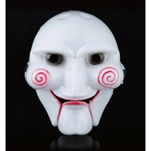 Mascara de Saw careta del muñeco de Saw Disfraz carnaval Halloween
